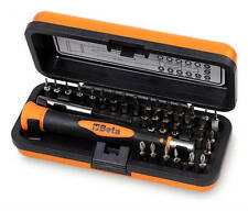 BETA TOOLS 1256/C36-2 INTERCHANGEABLE BITS SCREWDRIVER SET IN CASE SIZE 36