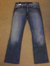 NWT Armani Exchange Women's J57 Ultra Low Rise Straight Leg Size 6S
