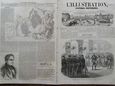 L' ILLUSTRATION 1852 N 507 PRESENTATION DU SENATUS CONSULTE AU PRINCE PRESIDENT