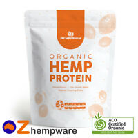 450g VEGAN HEMP PROTEIN POWDER PLANT BASED RAW CERTIFIED ORGANIC BODYBUILDING