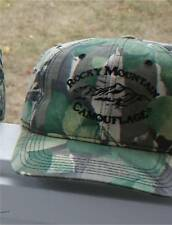CAMOUFLAGE HUNTING SPORTSMEN HAT ROCKY MOUNTAIN USED