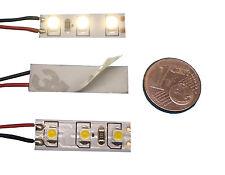 5 LED MODELL HAUS BELEUCHTUNG WARMWEISS 8-16V AC/DC KLEIN HELL für N und Z