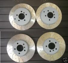 RANGE ROVER 3.0TDV6 BRAKE DISCS DRILLED GROOVED FRONT REAR