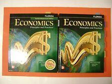 Economics: Principals and Practices Florida Teacher Edition & Student Edition