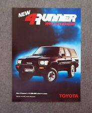 G759 - Advertising Pubblicità - 1989 - TOYOTA 4 RUNNER