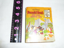 A Big Little Book: Donald Duck: The Lost Jungle City #5773 Whitman 1975