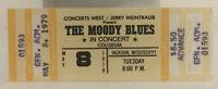 The Moody Blues Concert Ticket Stub 5/8/1979 Jackson MS Mint Unused Vintage Rock