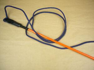 Sonderposten Trainings Pole Hundetraining Peitsche 100 cm orange No. 1143