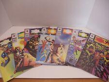 Solar Man of the Atom 7 Books Valiant Comic Lot
