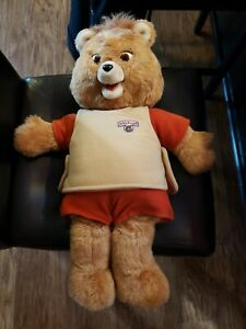 Teddy Ruxpin lot with bear, books, pamphlet, and tapes Teddy Ruxpin 1985 used