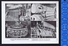 Diesel Engines - 1950s Print
