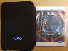 NEW SHAPE FORD FIESTA HANDBOOK OWNERS MANUAL AUDIO NAVI 2013-2017 PACK A-286