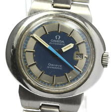 OMEGA Geneve Dynamic Date Navy Dial Automatic Ladies Watch_590707
