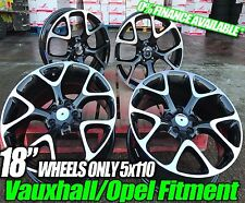 "18"" x4 VAUXHALL ASTRA VXR INSIGNIA ZAFIRA STYLE ALLOY WHEELS Ask For Tyre Polish"