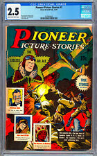 PIONEER PICTURE STORIES #1 CGC 2.5 CLASSIC GOLDEN AGE PRE-CODE WWII STORIES 1941