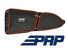 PRP Seats Door Bag - Front Driver Side Black / Red for 2014-2017 Polaris RZR