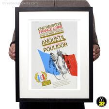 Tour de France 1964 Jacques Anquetil & Raymond Poulidor vintage cycling print
