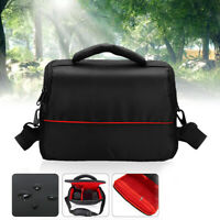 Waterproof DSLR Digital Camera Bag Carry Shoulder Bag Strap For Nikon For Canon