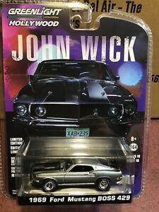 Greenlight 1:64 Hollywood series 18  John Wick.  1969 Ford Mustang Boss 429