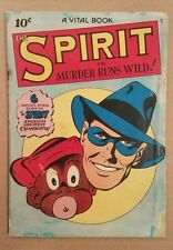 The Spirit in Murder Runs Wild VG-