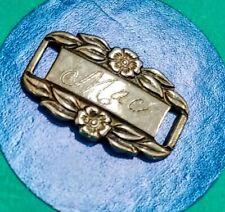S60 Forget Me Not Mae Sterling Silver Vintage Bracelet Charm