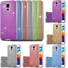 Glitzer Hülle Samsung Galaxy Case Schutz Tasche Slim Silikon Strass Bling