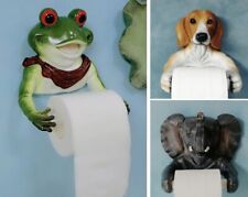 Toilet Paper Stand Resin Animal Dog Dinosaur Elephant Frog Kitchen Towel Holder
