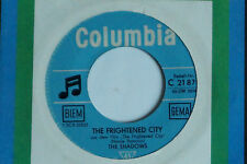 "THE SHADOWS -The Frightened City- 7"" 45"