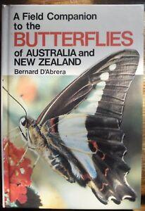 Bernard D'Abrera - A FIELD COMPANION TO THE BUTTERFLIES OF AUSTRALIA AND NZ