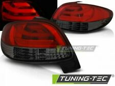 LED Taillights For PEUGEOT 206 10.98- RED SMOKE LED BAR..