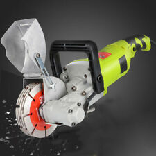Electric Wall Chaser Groove Steel Concrete Cutting Slotting Machine AC220V 4000W