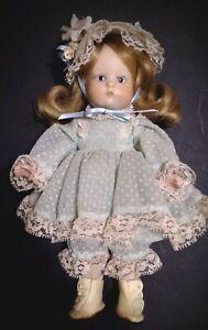 "ARTIST MADE Porcelain Doll ""JUST ME"" Repro Vintage 310 ARMAND MARSEILLE"
