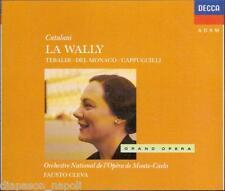 Catalani: La Wally / Cleva, Tebaldi, Del Monaco, Cappuccilli - CD
