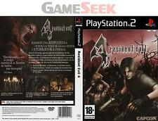 RESIDENT EVIL 4 - PLAYSTATION PS2 BRAND NEW FREE DELIVERY