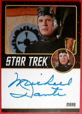 STAR TREK TOS 50th, MICHAEL DANTE (Black) LIMITED EDITION Autograph Card LIMITED