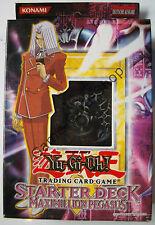 Yu-Gi-Oh! - MAXIMILLION PEGASUS - STARTER DECK - Deutsch - 1. Auflage - OVP -NEU
