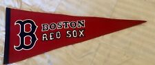 Boston Red Sox MLB Traditions Wool Pennant Red White