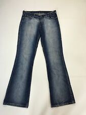 "Damen Levi 529 ""Bootcut"" Jeans-W32 L34-Faded Navy Wash-super Zustand"