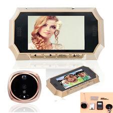 """4.3"""" LCD Digital Door Peephole Peep Hole Doorbell Viewer IR Camera Monitor Video"""