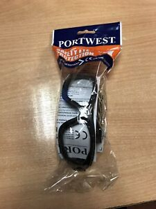 PORTWEST SAFETY EYE PROTECTION PW11 HEALTH SAFETY OCULA VISION  REDUCED