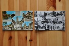2 Postcards of Warwick, Warwickshire - 1950's