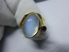 55 (17,5 mm Ø) Saphir Ringe mit Edelsteinen