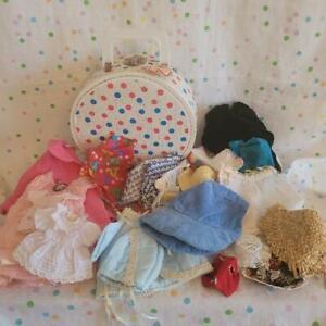 Vintage TINY TRIPPER Doll Case 21 pc Doll Clothes Lot Various Sizes #1C