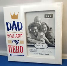 HERO DAD 4 x 6 Photo Picture Frame - Special Moments Collection