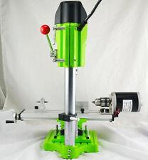 220V Mini DIY Wood Lathe Machine Woodworking+Bench Drill Set 3500r/min 480W CN