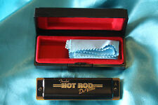 Fender Hot Rod Deville Harmonica, Key of A, with Carrying Case, MPN 0990707003