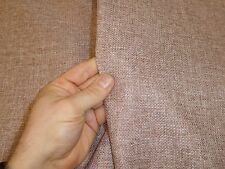Job Lot - 2m roll of FAWN BEIGE  Linen Style Weave Upholstery / Curtain Fabric