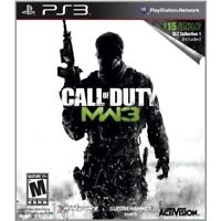 Call Of Duty: Modern Warfare 3 PS3 PlayStation 3 Very Good 8Z