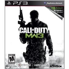 Call Of Duty: Modern Warfare 3 With DLC Collection 1 PlayStation 3 Very Good 8Z