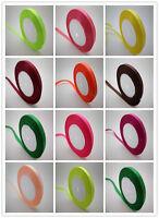 """Free Shipping 100-1000 Yards DIY 3/8 """"10 Mm Craft Satin Ribbon Wedding Party"""